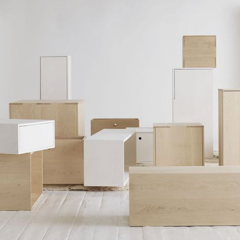 Awesome Studio Vit Of Sweden Has Designed A Series Of Eleven Maple Storage Boxes Of  Varying Sizes For Owner Customization