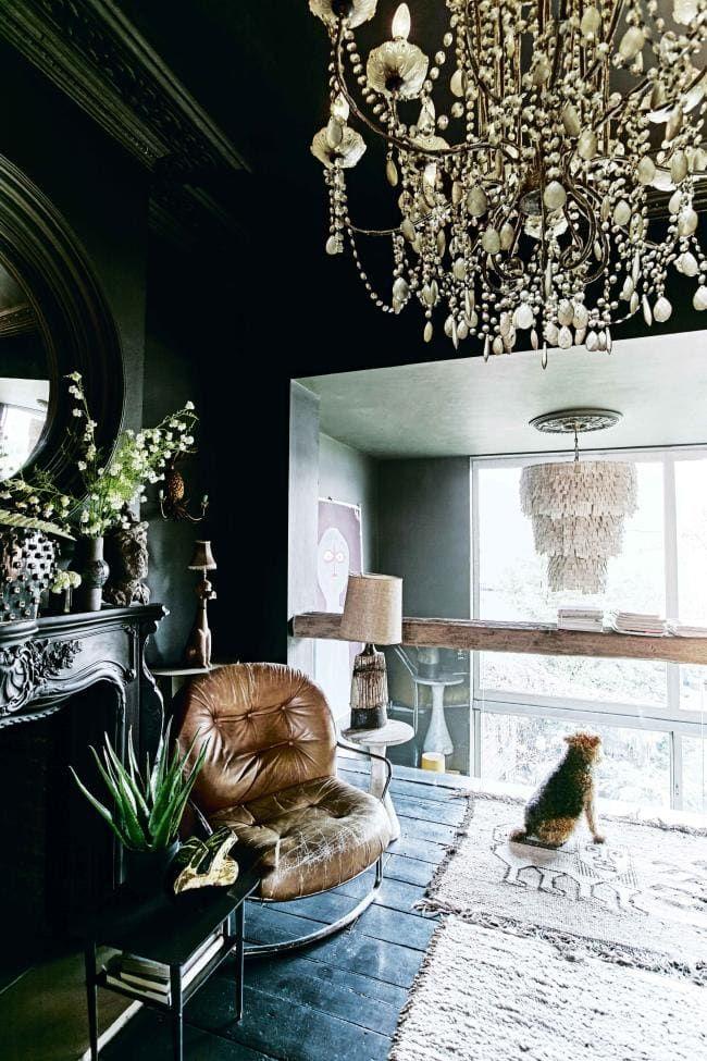 house tour inside abigail ahern s eclectic east london terrace rh pinterest com