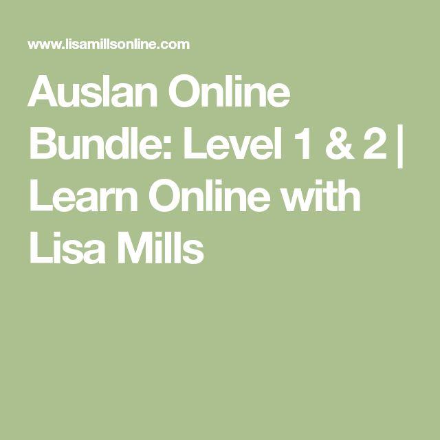 Auslan Online Bundle: Level 1 & 2 | Learn Online with Lisa Mills