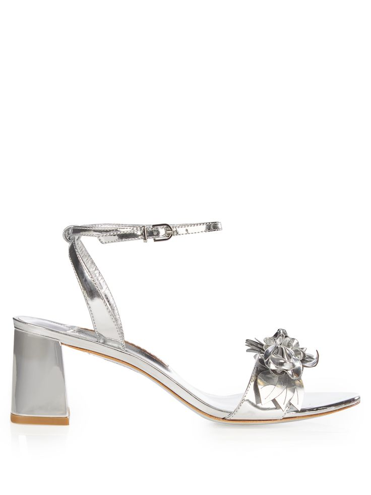 Click here to buy Sophia Webster Lilico patent-leather block-heel sandals at MATCHESFASHION.COM