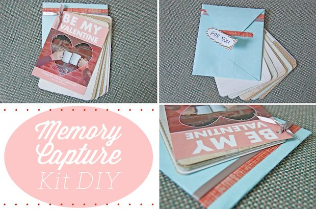 DIY Valentine's Day Gift Idea: Memory Capture Kit