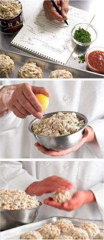Phillips crab cake recipe from the can