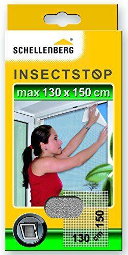 Schellenberg 50710 Moustiquaire pour fenêtres contre insectes/moustiques: Moustiquaire, protection contre les insectes et moustiques pour…