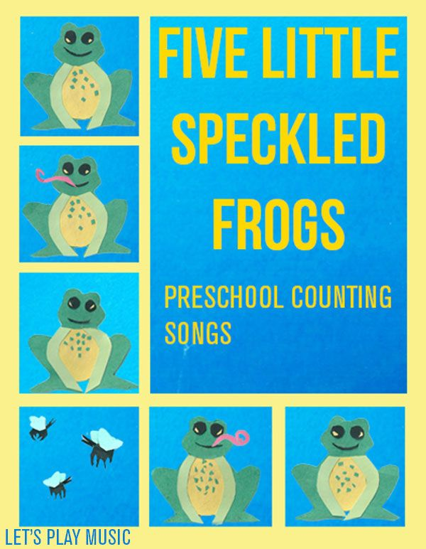 preschool counting songs and fingerplays let s play five speckled frogs preschool 160