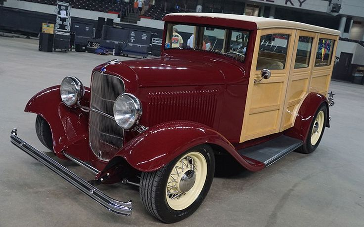 1932 Ford Woodie Wagon Giveaway Car at the NSRA 2016 Street Rod Nationals
