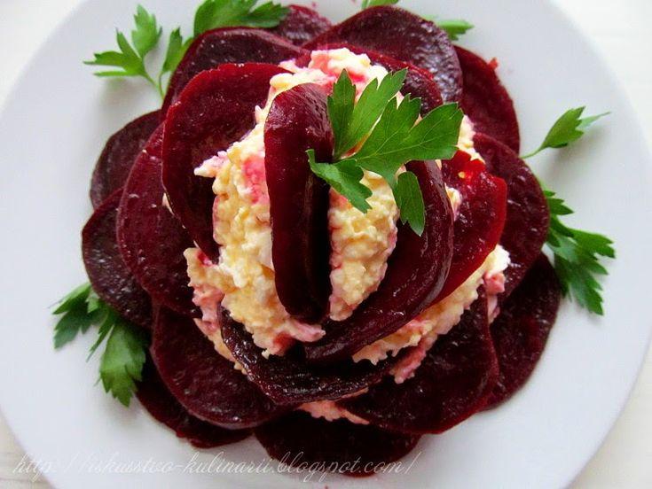 Постигая искусство кулинарии... : Еврейская закуска с маринованной свеклой