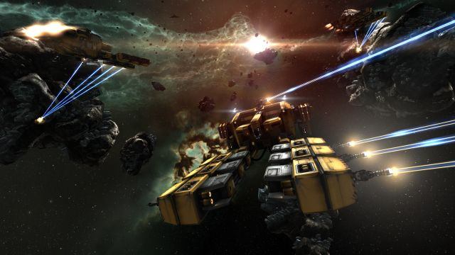 EVE Online is a Massive Multiplayer Online Roleplaying Space Game - EVE Online