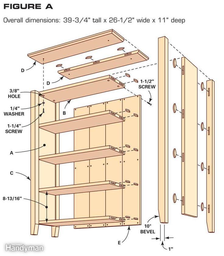 Simple Bookcase Plans - Top 25+ Best Bookshelf Plans Ideas On Pinterest Bookcase Plans