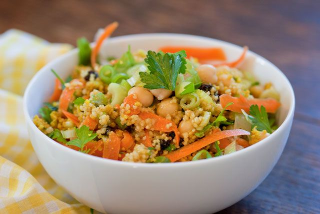 Trying to find the Northwest Couscous salad that I enjoyed in Seattle...pretty close!