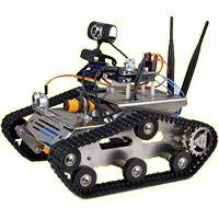 Proyectos de robótica ~ EP - Electro Pc   Robótica Robot con cámara y conexión a internet