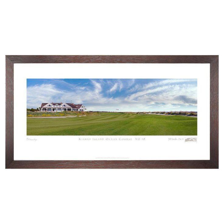 Stonehouse Framed Prestige Edition Wall Art -- Famous Golf Courses - KIAOC18P
