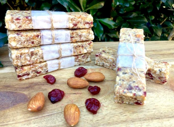 Cranberry, Coconut Power Bars