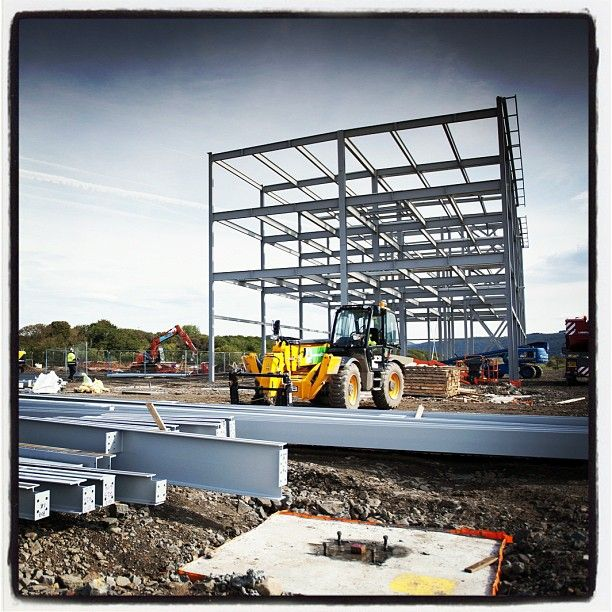The new Bay Campus takes shape...