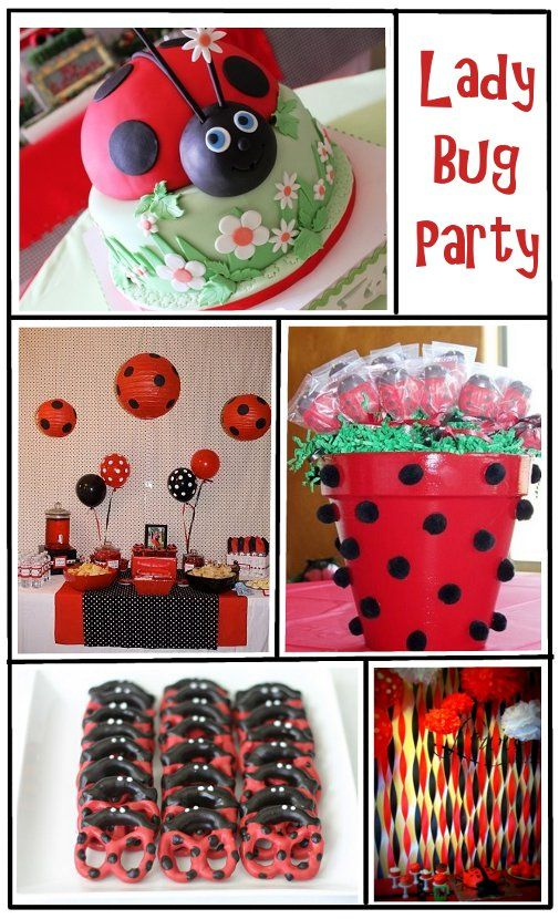 Everyday Art: Ladybug Birthday Party Inspiration