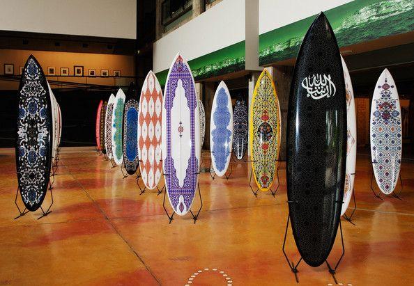 'Inshallah' Surfboards designed by Sydney artist Phillip George