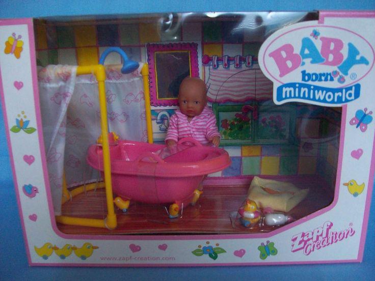 Mini Baby Born 2 Neue Seltene Sets   Küche Und Badezimmer   Ostern! In  Spielzeug