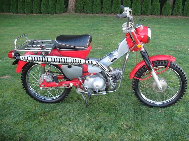1971 Honda CT 90 Trail Frame no. CT90410985 Engine no. CT90E411276