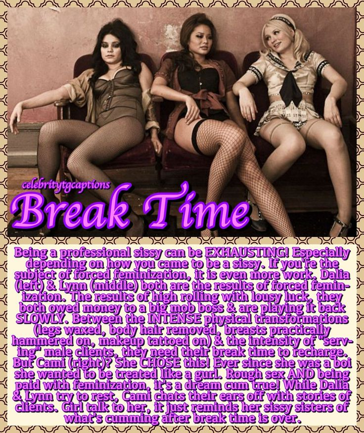 (18+, NSWF) A blog dedicated to TG and Forced Feminization captions using images from all your...