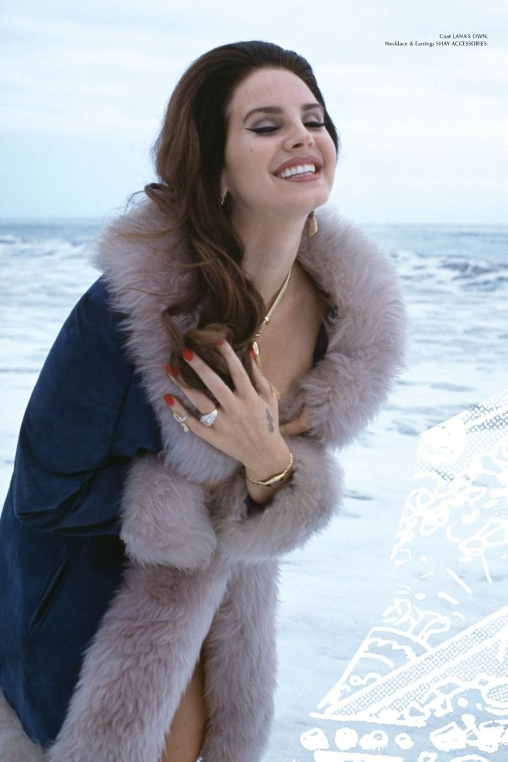 Lana Del Reyphotographed by her boyfriend Francesco Carrozzini on the cover ofGalore's Special Collector Issue, 2014