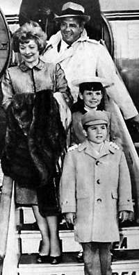 Lucille Ball, Desi Arnaz, Lucie Arnaz, Desi Arnaz Jr.