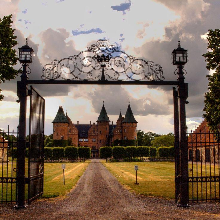 Trolleholm Castle in Scania, Sweden