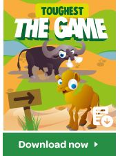 Who will be crowned the toughest Super Animal? Play the game to find out... but be careful you don't get caught in a cage!