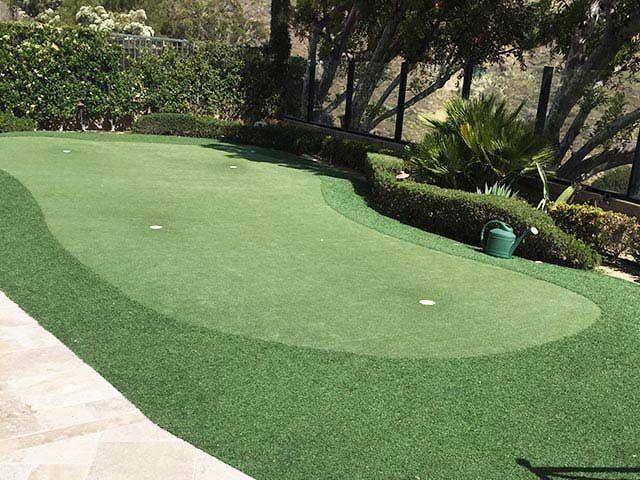 Premium Artificial Grass Backyard Putting Greens ...