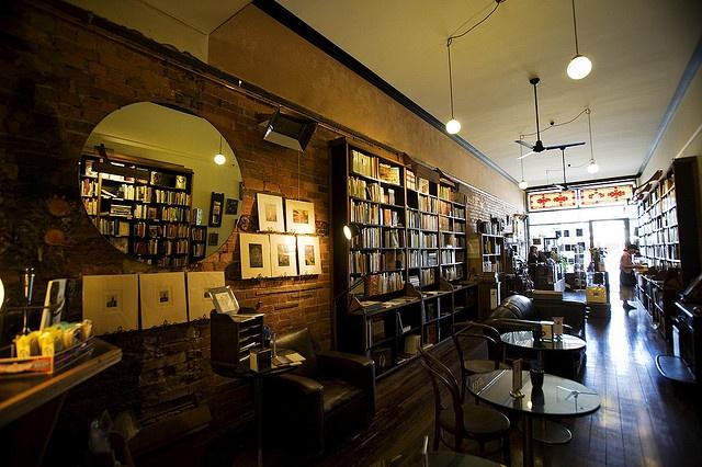 The lovely  Known World Bookshop in Ballarat