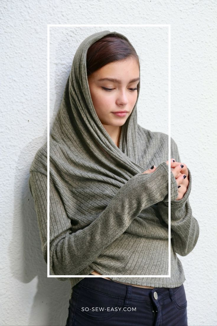 Transformable easy cardigan - http://sewing4free.com/transformable-easy-cardigan/