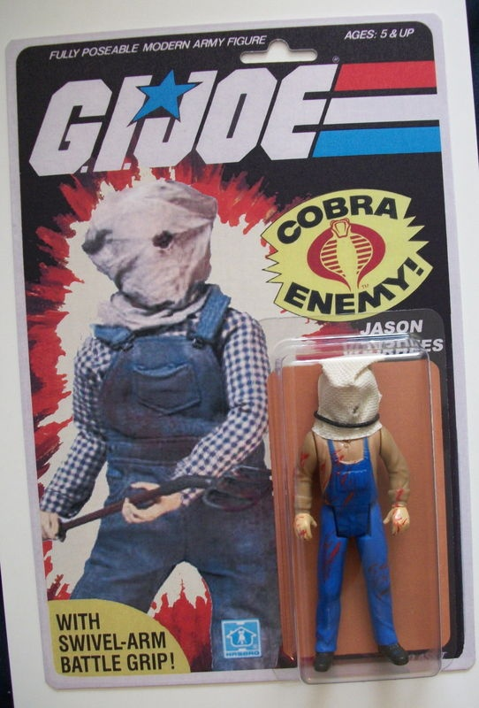 Jason Toys For Boys : G i joe figure jason voorhees popsfartberger custom