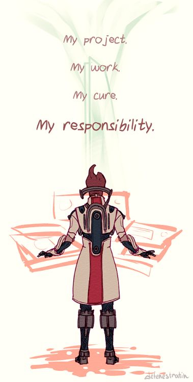 Mordin: Would have liked to run tests on the seashells. #masseffect