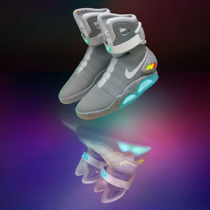 Nike Mag self-lacing shoes