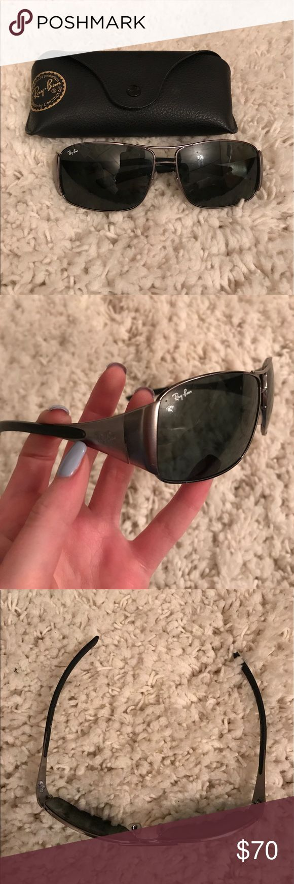 Men's Ray-Ban Good used condition, comes with the case Ray-Ban Accessories Sunglasses
