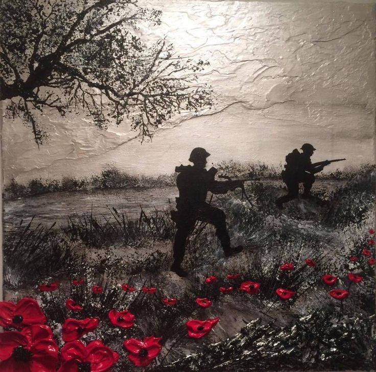 'For The Swift And Bold' by Jacqueline Hurley War Poppy Collection 1939-1945 No.1 To view more of the collection www.poshoriginalart.co.uk
