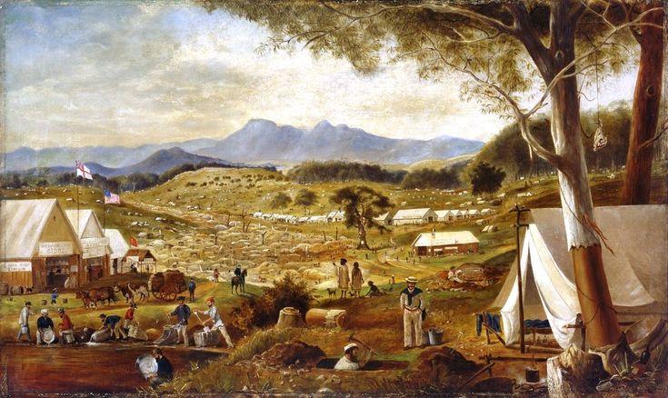 Image result for digging for gold in australia