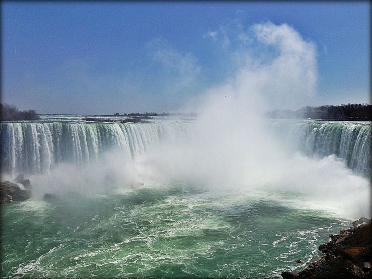 You can't go to Niagara Falls without actually seeing the Falls!