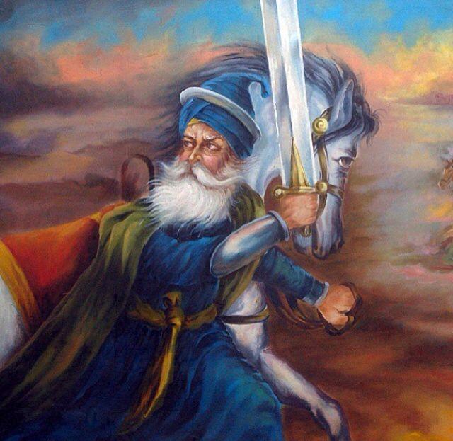 Baba Deep Singh Ji Art