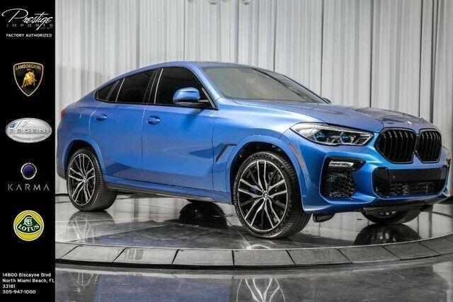 2020 Bmw X6 M50i 2020 Bmw X6 M50i Suv 4 4l 32 Valve V8 Engine Automatic Blue In 2020 Bmw X6 Suv Used Bmw