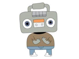Juke, studente straniero in gemellaggio, in realtà è uno stereo portatile e quando parla nessuno capisce niente, perchè usa solo il linguaggio beatbox. Boing Tv
