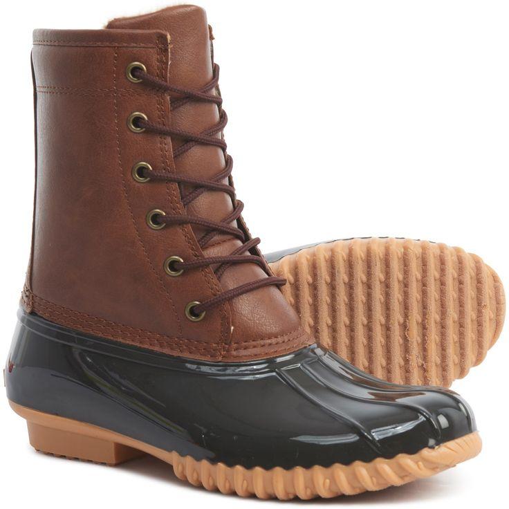 Sporto Alice Duck Boots Waterproof, Insulated (For Women