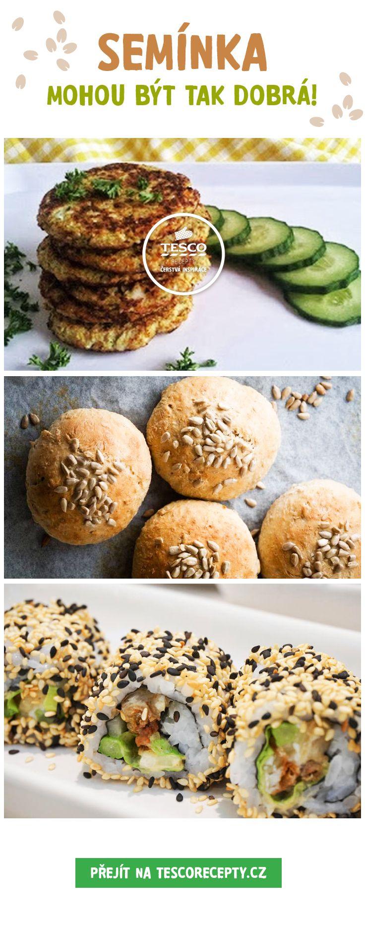 Chutná a zdravá jídla se semínky!