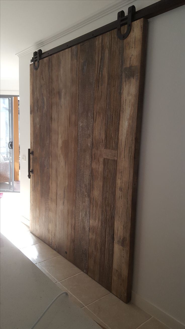 Williams&Campion recycled timber barn slider
