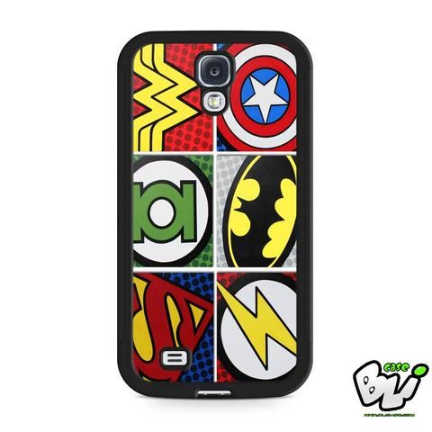 Marvel Comic Samsung Galaxy S4 Case