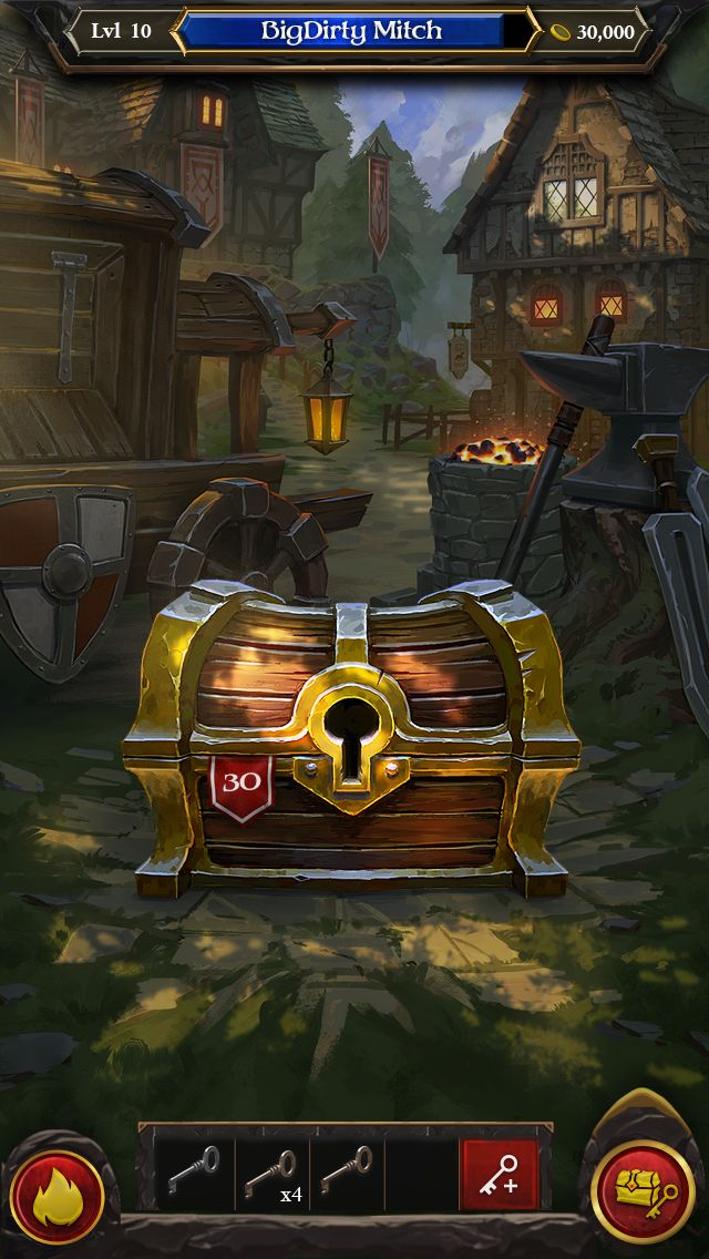 Concept for the chest opening experience. #EoE