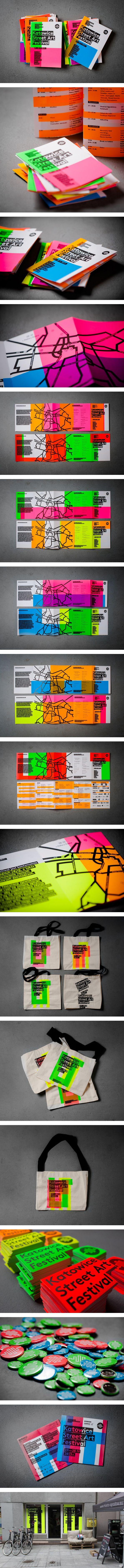 Katowice Street Art Festival // charte graphique