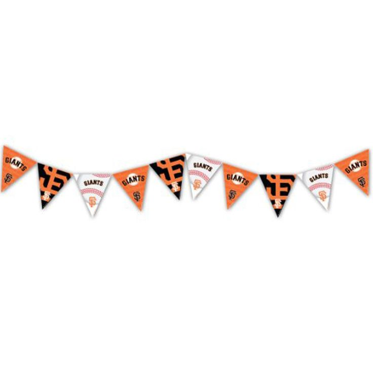 MLB Licensed San Francisco Giants Pennant Party Banner