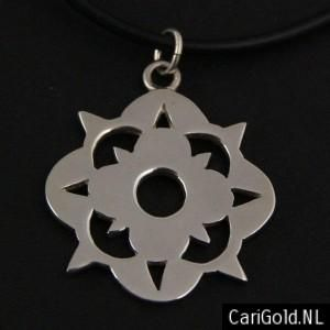 #Somewhere Else - #Marillion - Jewellery - Handmade Sterling silver pendant (26mm)- PENSOM26 - Wearable on two sides - to wear on a #chain - Designed by Karin Hengeveld - to order check - www.CariGold.nl