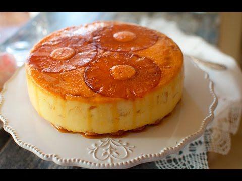 Receta de Tarta de Piña sin Horno - YouTube