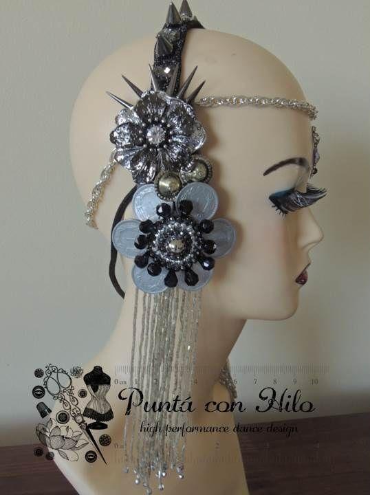 Tribal Fusion Headdress. https://www.facebook.com/puntaconhilodesign