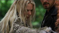 When Emma Falls Into Hook's Chest and He Holds on For Dear Life